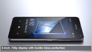 Microsoft Lumia 650 - Features & looks in metal body Video