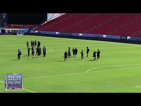 Bermuda Gold Cup Team Visit Toyota Stadium, June 19 2019