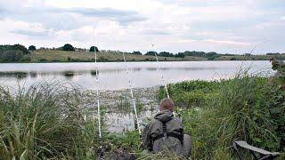 Ловля на пружину Разведал новое место Рыбалка летом 2021