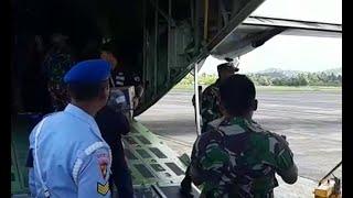 TNI Bawa Bantuan untuk Korban Gempa Sulawesi Tengah