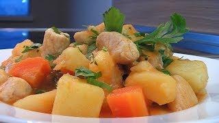 Рагу из курицы и овощей . Очень вкусно!