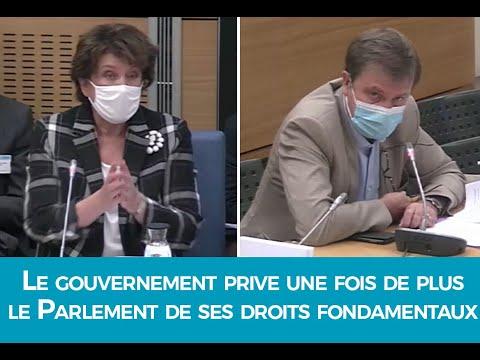 PJL Ddadue : Le gouvernement prive une fois de plus le Parlement de ses droits fondamentaux !