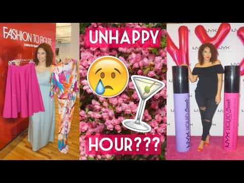 Gypsy Vlog #11 | Fashion to Figure HQ, NYX Store Opening + Unhappy Hour