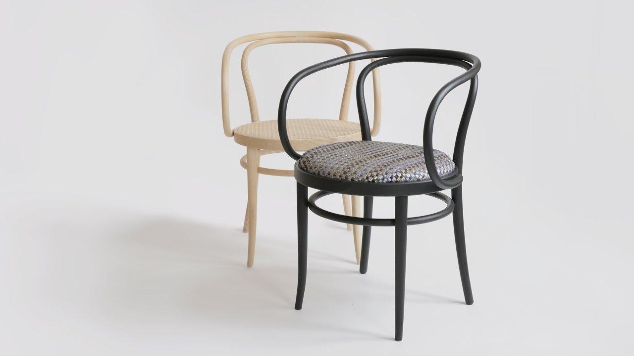 Thonet Reinterprets Classic Bentwood 209 Chair With Bolonu0027s Villa La  Madonna Material