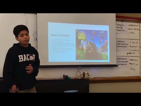 Dieser Junge sagt, er sei der beste Fortnite-Spieler überhaupt!