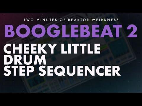 TMORW: BOOGLEBEAT 2 - Live Tweak-able Drum Sequencer Reaktor Ensemble