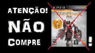 VÍDEO DESATUALIZADO | Não comprem God of War Saga!