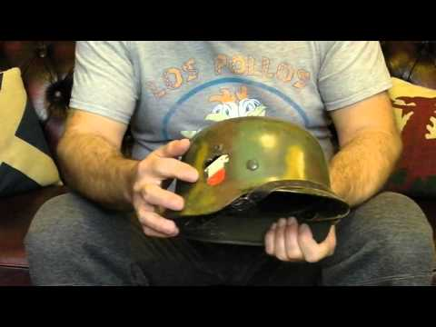 German Stahlhelm M35 Original