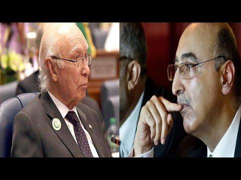 Reactions On Sartaj Aziz & Abdul Basit's Comments