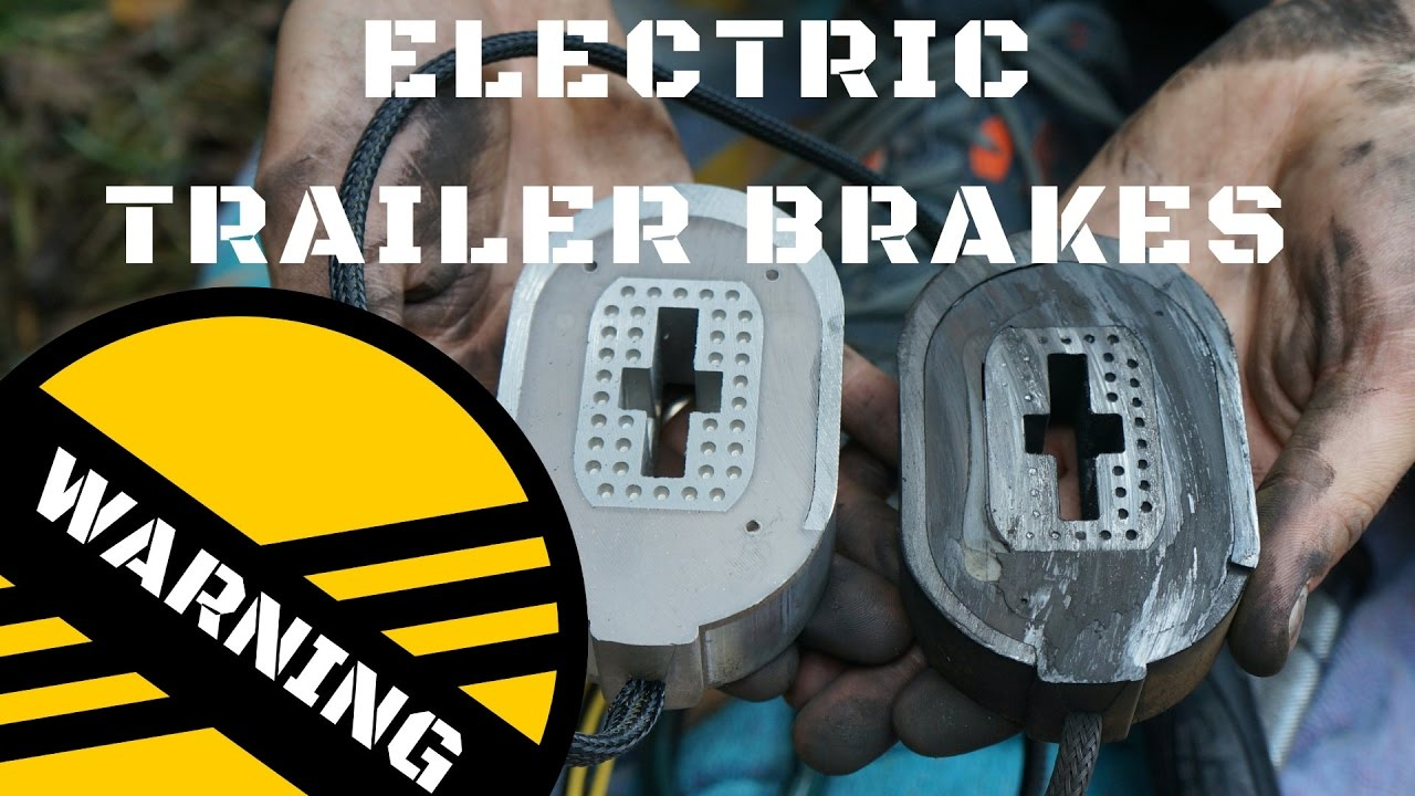 Common Reason For Shorting Trailer Brakes If You Have Electric Wiring Brake Magnets Check Your Axle Wires