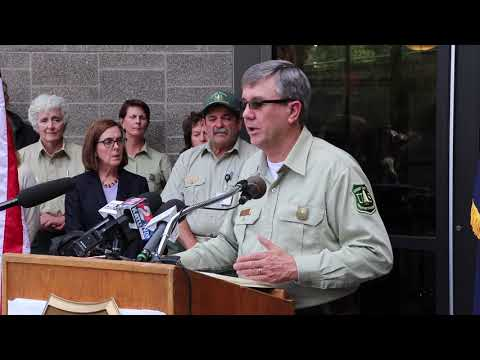 Forest Service chief visits Columbia Gorge