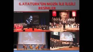 Atatürk ve müzik konulu araştırma