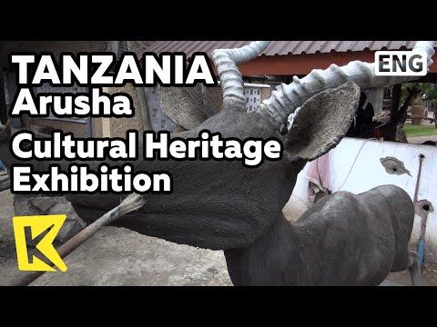 【K】Tanzania Travel-Arusha[탄자니아 여행-아루샤]문화유산 전시관, 동물조각/Cultural Heritage Exhibition/Wildlife/Masai