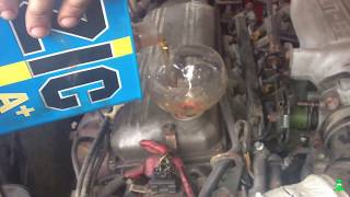 Замена прокладки картера Kia Sephia
