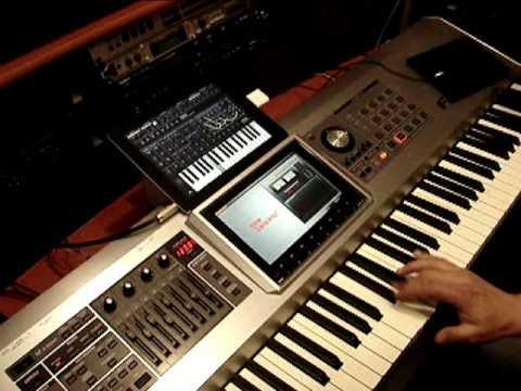 The Roland Fantom G and Apple IPad 2