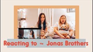 REACTING TO  What a Man Gotta Do - JONAS BROTHERS | Maddie & Natallia
