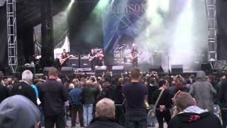 Crimson glory Red sharks live at Rockstad Falun 120818
