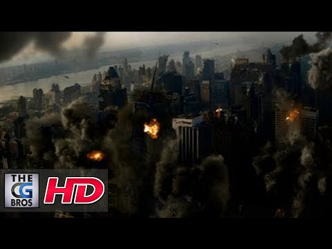 "CGI VFX Breakdown & Demo : 2.5D ""New York Destruction"" by - Screen Scene"