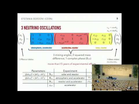 Pilar Hernandez & Stefania Bordoni: Neutrinos Lecture 3/4 ⎮ CERN