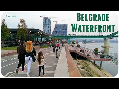 Belgrade Waterfront - Sava promenada (oct. 2017)