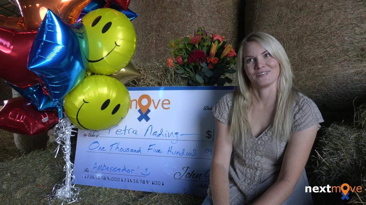 $1,500 Awarded to Next Move Ambassador