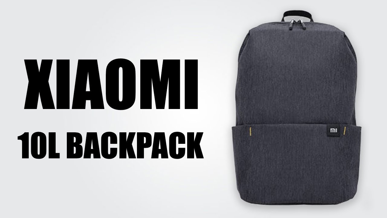 Xiaomi 10L Backpack Bag - YouTube 55b2380dc80f9
