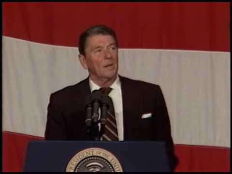 President Reagan's Speech in Billings, Montana on August 11, 1982