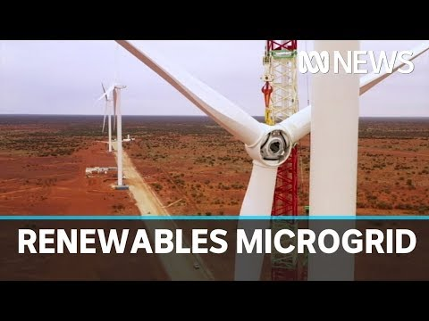 WA mine site builds renewables microgrid to power production | ABC News