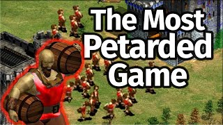 "The Most ""Petarded"" AoE2 Game!"