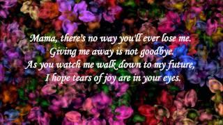 Mama's song - Carrie Underwood (lyrics)