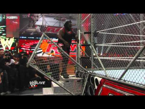 Raw: Big Show vs. Alberto Del Rio - Raw Roulette Steel Cage