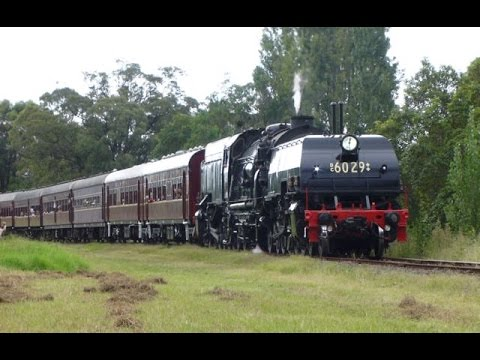 Australian Trains: Steam Locomotives in Action - 2015 Review