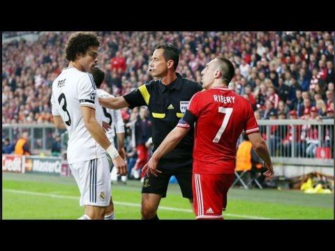 Топ 10 сумасшедшие красные карточки в футболе ● ●  Ужасы Нарушения ● Бои
