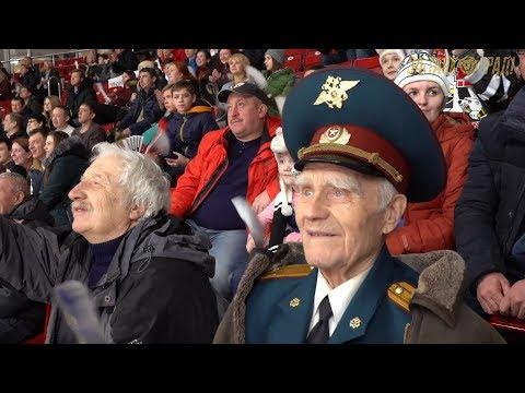 Почетные гости «Трактора». Ваганов Григорий Иванович, командир расчета «Катюши».