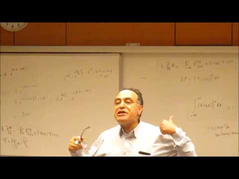 Lecture 12 - Solving Schrodinger Equation, Stationary States, Infinite potential well