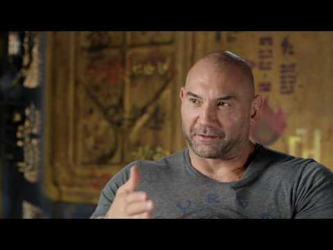 "Guardians of the Galaxy Vol. 2: Dave Bautista ""Drax"" Behind the Scenes Movie Interview"