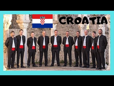 CROATIA: Wonderful Croatian choir SINGING IN TROGIR