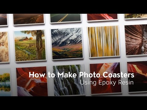 How to Make Photo Coasters Using Epoxy Resin