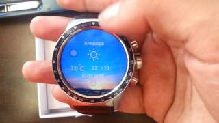 REVIEW ⌚ LEMFO  Y3 Android 5.1 Quad-Core 1.3GHz RAM 512MB - Comprado desde Arequipa Perú