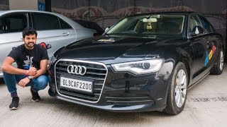 Audi A6 Review On The Track - Soft & Comfy | Faisal Khan