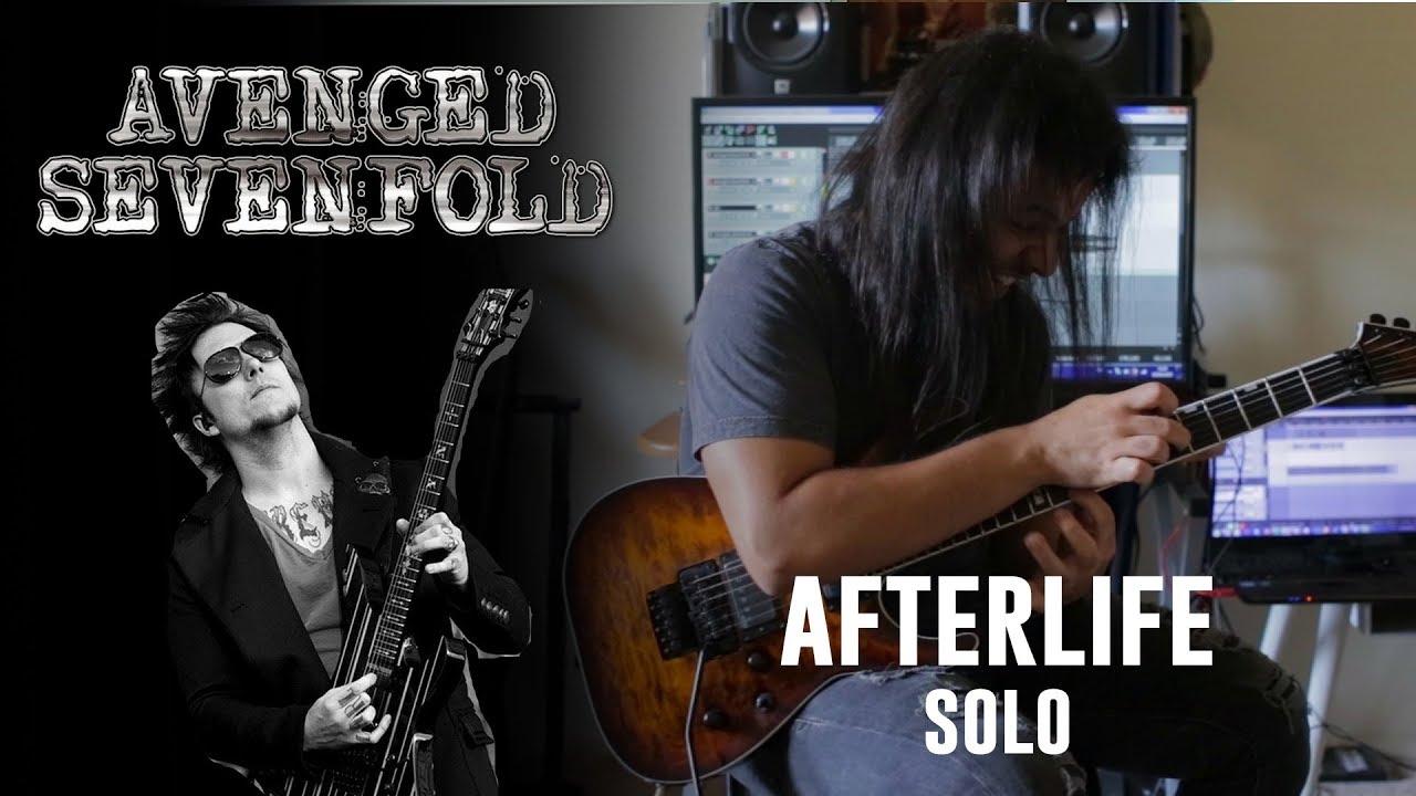 AFTERLIFE (solo) AVENGED SEVENFOLD | LUÍS KALIL