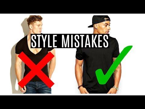 5 Men's Style Mistakes | STOP DOING THIS! | Men's Fashion 2018