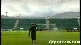 Soccer AM- Shamrock Rovers Crossbar Challenge