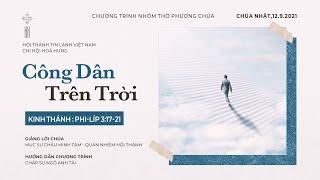 HTTL HÒA HƯNG - Chương trình thờ phượng Chúa - 12/09/2021