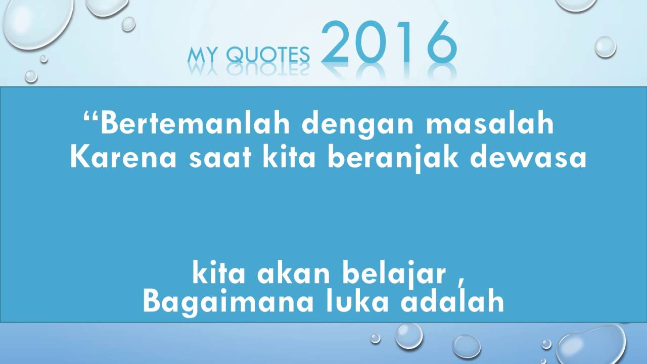 My Quotes 2016 By Musafir Alim 7 Youtube