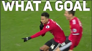 What a goal! Lingard scores AGAIN | Everton 0-2 Manchester United | The Football Terrace