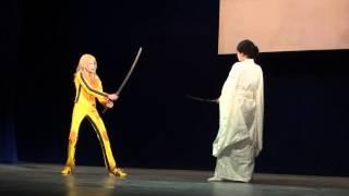 Тя-но-ю 2014 Rum, Hitomi chii Москва -- Kill Bill Персонажи  Beatrix Kiddo, O Ren Ishii