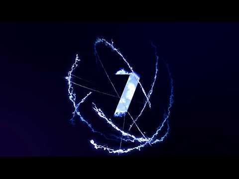 シネマチックな雷迸るYouTube用オープニングアニメーション