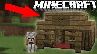 ★ Minecraft: KÖPEK KULÜBESİ NASIL YAPILIR?