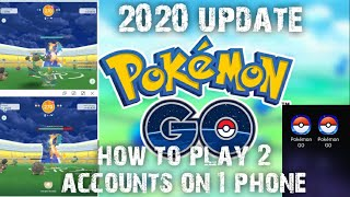 HOW TO INSTALL 2 POKÉMON GO APPS ON 1 PHONE 2020 UPDATE